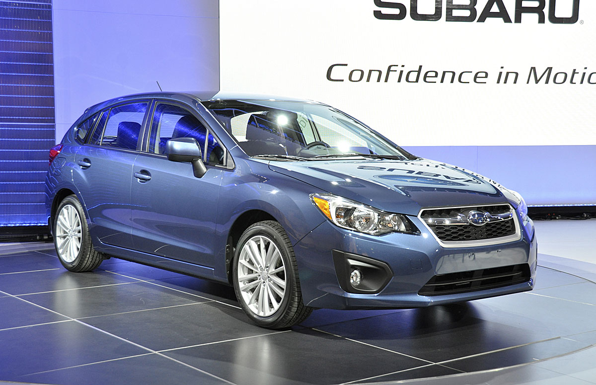 The new Subaru Impreza on sale