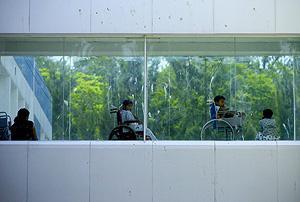 Varios niños de Guatemala ingresados en un hospital (Foto: EFE | Ulises Rodríguez)