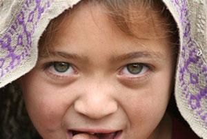 Una niña de la aldea de Hushé. (Foto: Proyecto Hushé) Vea el álbum