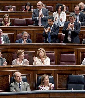 Imagen de una sesión parlamentaria. (Foto: Bernardo Rodríguez)