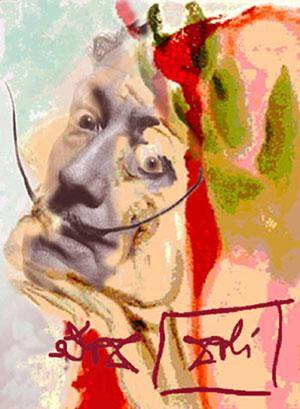 Autorretrato de Dalí. (Foto: El Mundo)