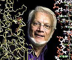 El profesor Steitz (Foto: Univ. Yale)