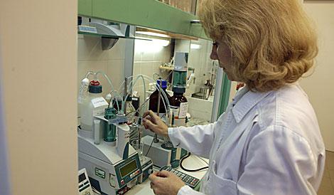 Laboratorio de oncología en una imagen de archivo.  Reuters   Ints Kalnins