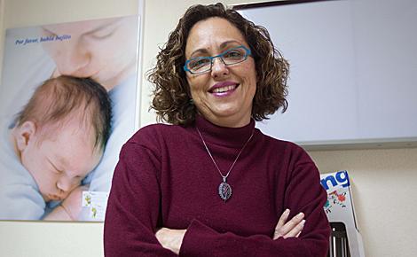 Mª Teresa fotografiada en su consulta.| Benito Pajares
