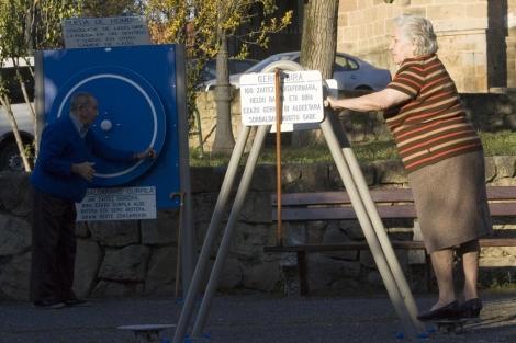 Un parque para la Tercera Edad. | Mitxi