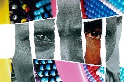 Imágen de una exposición contra el VIH organizada por ONUSIDA | El Mundo