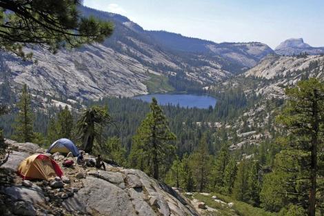 Vista del parque de Yosemite, en California.   Kenny Karst