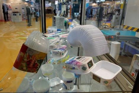 El bisfenol A se utiliza para dar rigidez a los plásticos.