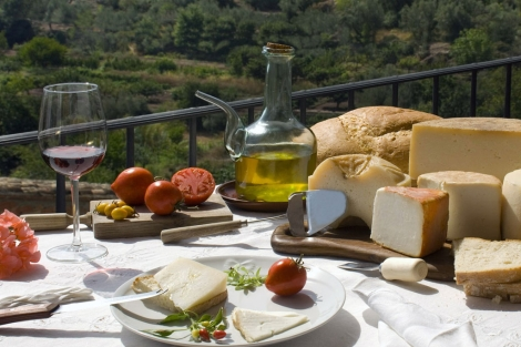 Ingredientes de la dieta mediterránea