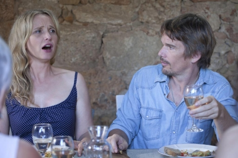 Una escena de la película 'Before Midnight'.