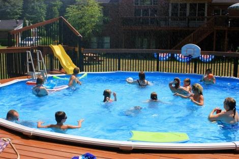 El 60% de los casos ocurren en una piscina privada.   LuAnn Snawder Photography