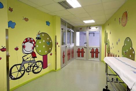 Planta de pediatría del Hospital Clínico de Salamanca. | El Mundo