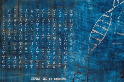 Arte con el ADN del comprador | Diego Sinova