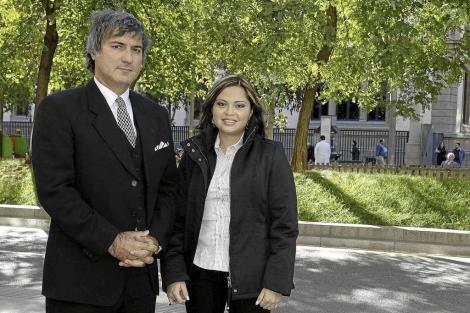 Imagen de archivo de Claudia Castillo y Paolo Macchiarini. | El Mundo