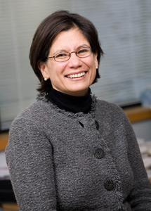 Katherine Luzuriaga, principal autora del artículo publicado en NEJM. | U. M.