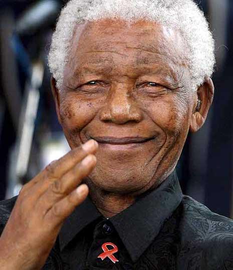 Retrato de Nelson Mandela, el preso 46664
