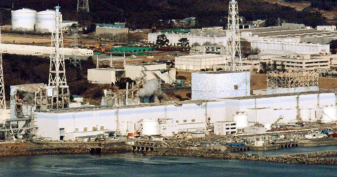 Imagen de la central nuclear de Fukushima.   Reuters