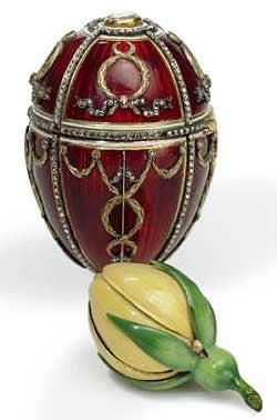 Huevo de Fabergé Rosebud