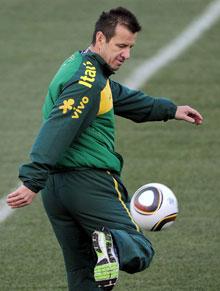 Dunga, entrenador de Brasil.