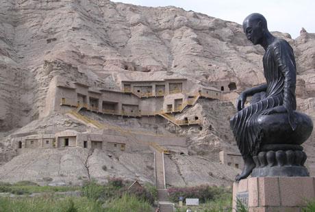 Las Cuevas de los Mil Budas de Kizil, en plena 'Ruta de la seda'. | Juan Pablo Cardenal