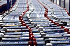 Carros de la compra en un Carrefour. | Reuters
