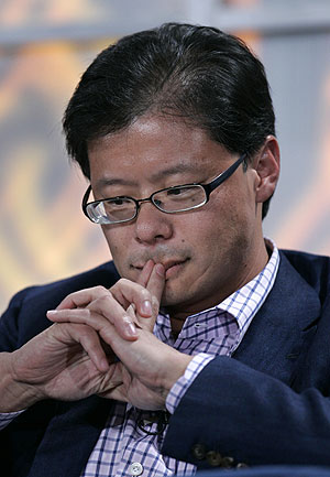 Jerry Yang, presidente de Yahoo!, en una imagen reciente. (Foto: AP)