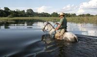 Los lugareños o 'pantaneiros', como se les denomina en la región del Mato Grosso, se caracterizan por llevar una vestimenta al más puro estilo 'cowboy'. (Foto: Alexandre Campbell).