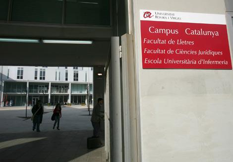 Campus de la universitat Rovira i Virgili en Tarragona. | J. Antonio