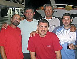 Varios tripulantes, en una foto de archivo.