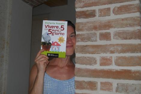 La portada italiana del libro de Stefania Rossini.